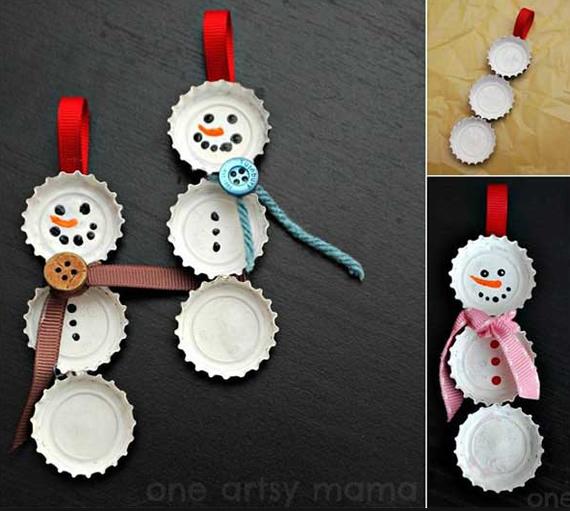 Ideia de enfeite para fazer no Natal com as crianças