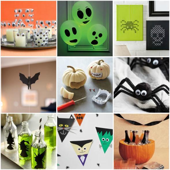 Fabuloso 30 ideias de decoração para festa de Dia das Bruxas - Halloween  QF38