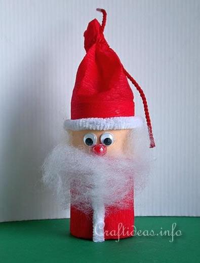 Papai Noel com Reciclagem