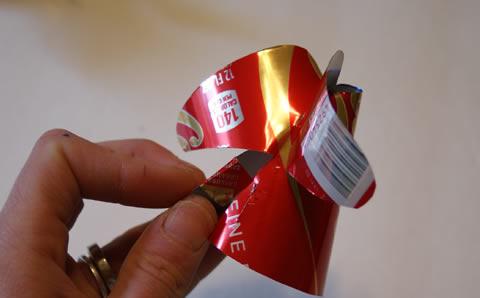Anjinho com Reciclagem de Lata
