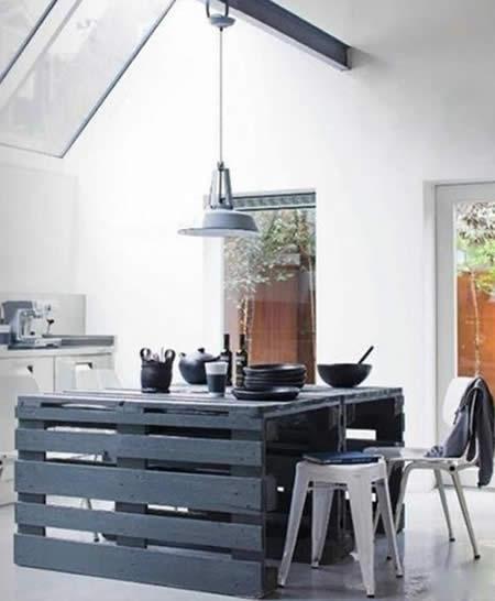 Ideias para fazer e decorar a casa com Pallets