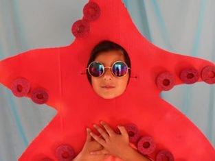 Fantasia Infantil para o Carnaval de Polvo