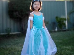 Fantasia de Frozen para Crianças
