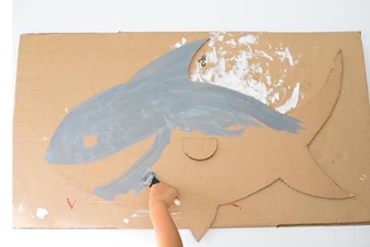 Fantasia de Tubarão para Crianças