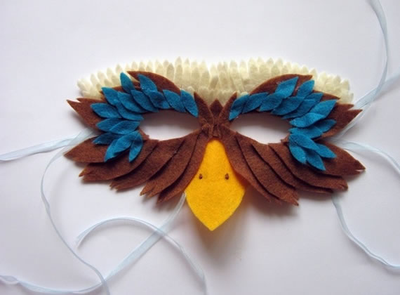 Moldes de Máscaras de Carnaval para Imprimir