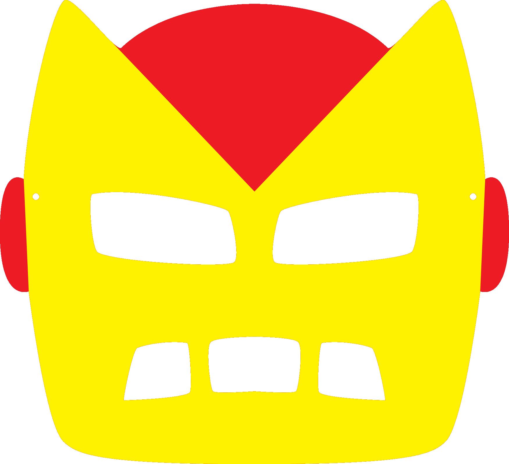 Moldes Coloridos De Mascaras Infantis Pokemon X Men Super