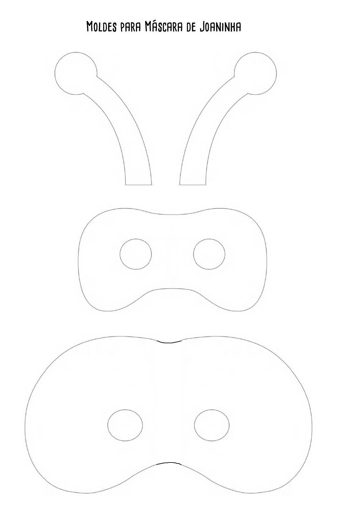 Moldes De Mascaras De Animais Em Feltro Como Fazer Em Casa