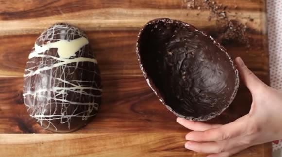 Como fazer ovo de Páscoa de colher