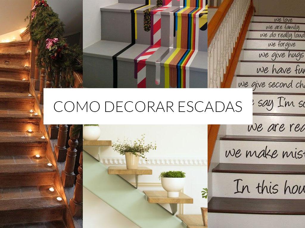 Como Decorar Escadas Para Ocasi Es Especiais 30 Ideias