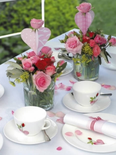 Decoração de Almoço para Dia das Mães