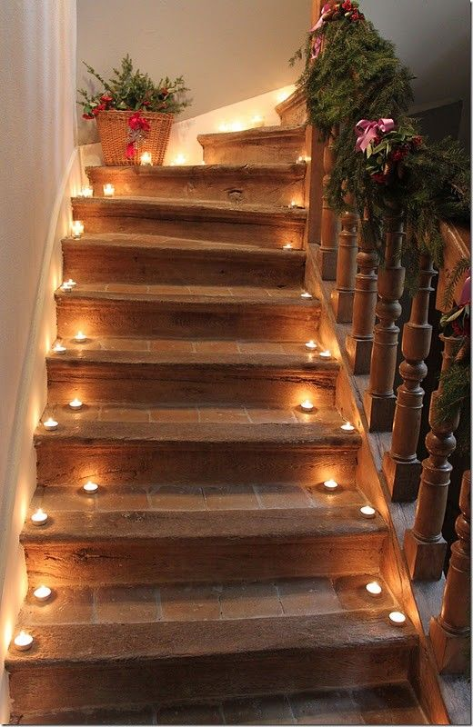 como decorar escadas
