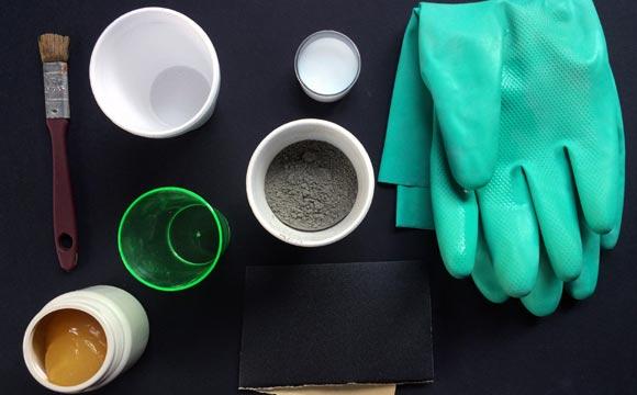 materiais de Como fazer vaso de cimento