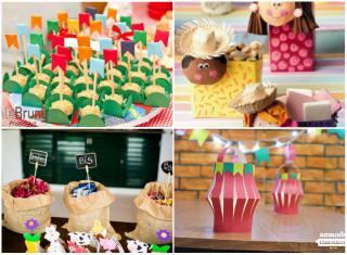 20 Ideias Para Decoração De Festa Junina Simples E Barata