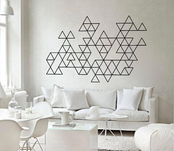 Como decorar paredes com fita isolante inspira o como - Como decorar paredes ...
