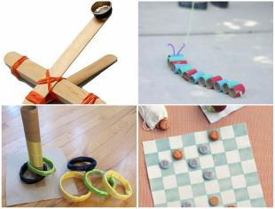 Brinquedos reciclados fáceis de fazer