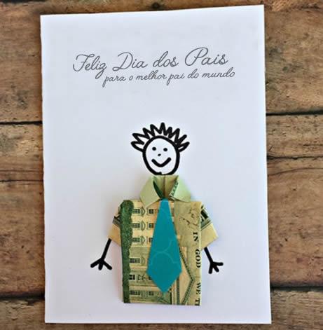 Como Fazer Cartão de Dia dos Pais
