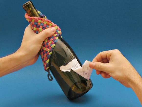 Como fazer copo com garrafa de vidro