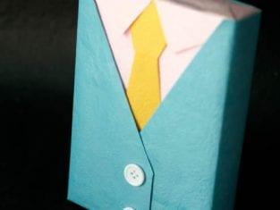 Embalagem Linda e Criativa para Presente de Dia dos Pais