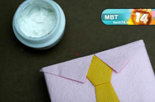 Embalagem Criativa para Presente de Dia dos Pais