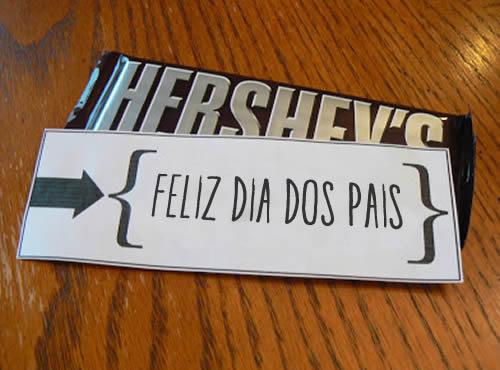 Lembrancinhas com Chocolate para o Dia dos Pais