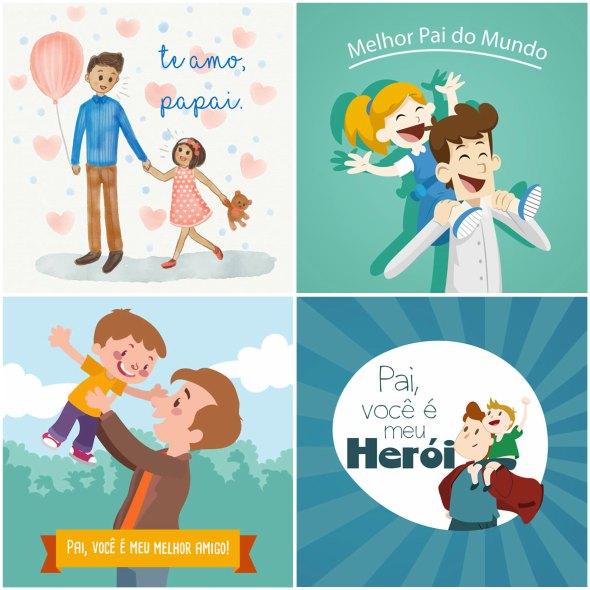 Camisetas Personalizadas Para O Dia Dos Pais Mensagens E Desenhos