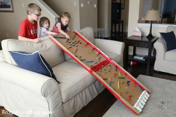 Brinquedo com Papelão para o Dia das Crianças