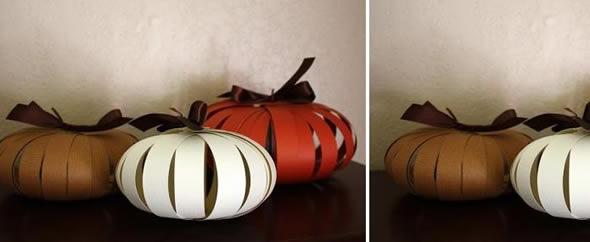 Decoração Simples com Papel para Halloween Passo a Passo