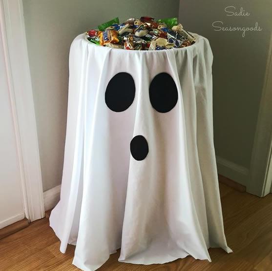 Decoração de Halloween Fácil e Barata