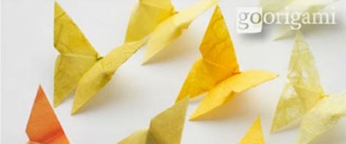 Borboletas de Papel com Origami Passo a Passo