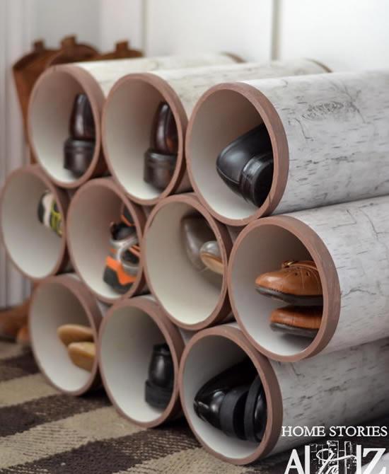 Ideias com Canos PVC para Decoração e Organização