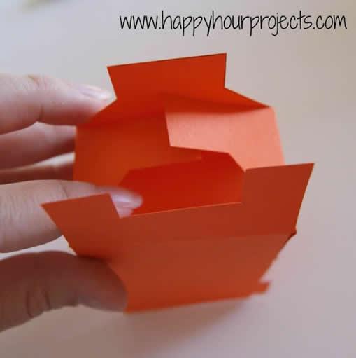 Como fazer Sacola de Papel para Lembrancinha com Moldes