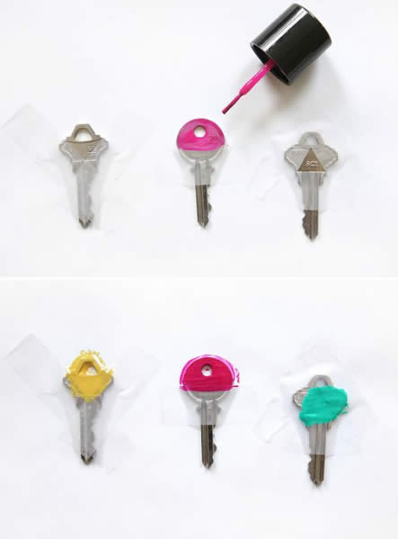 Como organizar e identificar as chaves do seu chaveiro