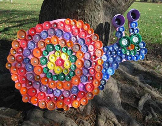 Artesanatos com Tampinhas para o Dia das Crianças