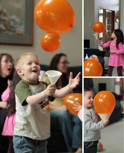 Decoração com Balões para o Dia das Crianças