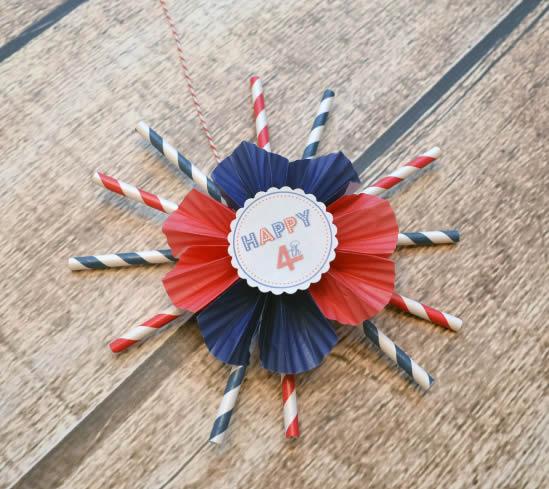 Artesanato com Canudos para Decoração de Dia das Crianças