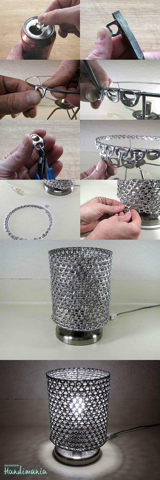 Como Reciclar Lacres de Latinha para fazer Artesanatos