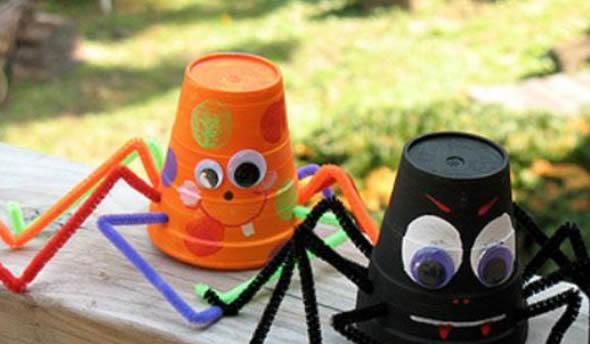 Lembrancinhas e Enfeites Criativos com Reciclagem para o Halloween