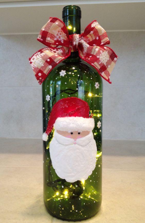Aparador Sala De Estar ~ 12 Enfeites e Lembrancinhas com Reciclagem para o Natal