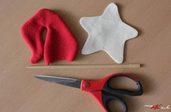 Como fazer Estrela de Natal em Tecido com Moldes