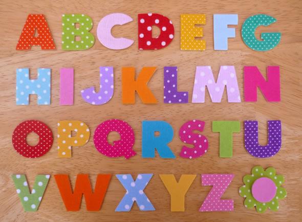 Como Fazer Letras em Tecido com Moldes