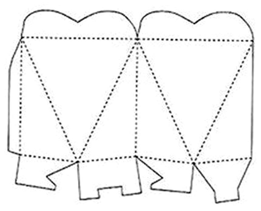 Modelos para fazer Caixinhas para Lembrancinhas