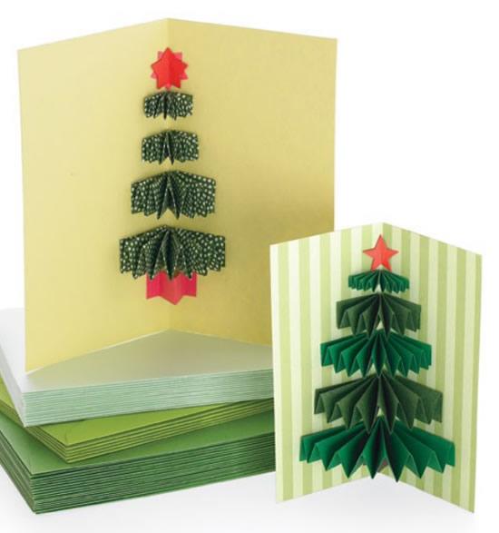 20 Formas Para Fazer Um Cartão De Natal Lindo E Criativo
