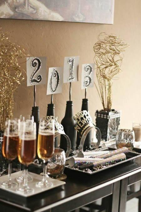 Decoração de Ano Novo - 20 Ideias e Enfeites Lindos