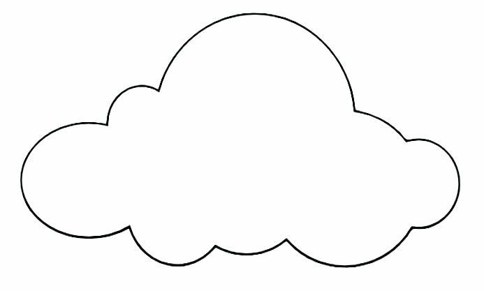Excepcional Nuvem de Papel em 3D com Moldes para Decoração de Festas AQ41