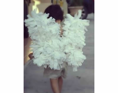 Como Fazer Asas de Anjo para Fantasia passo a passo
