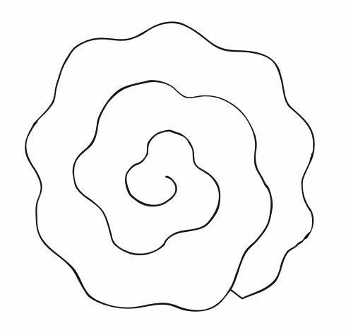 Flores De Papel Facil De Fazer Com Moldes Para Decoracao