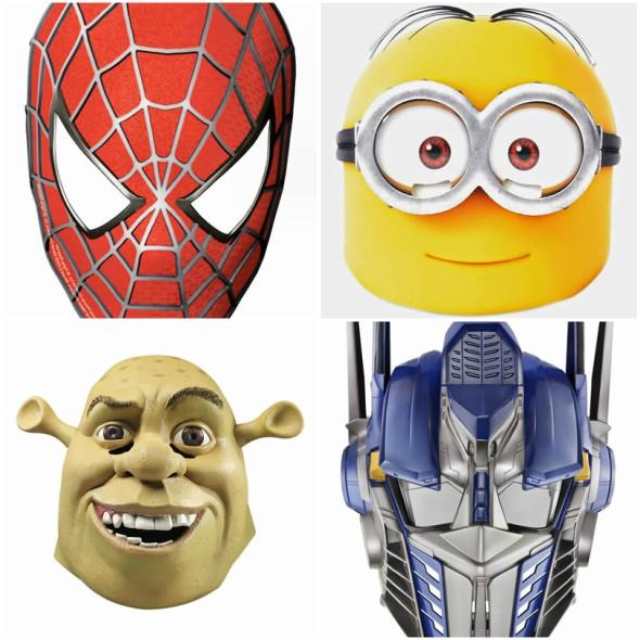 50 Máscaras Coloridas para Imprimir e Incrementar sua Fantasia
