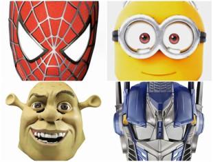 Máscaras Divertidas para Imprimir e Incrementar sua Fantasia