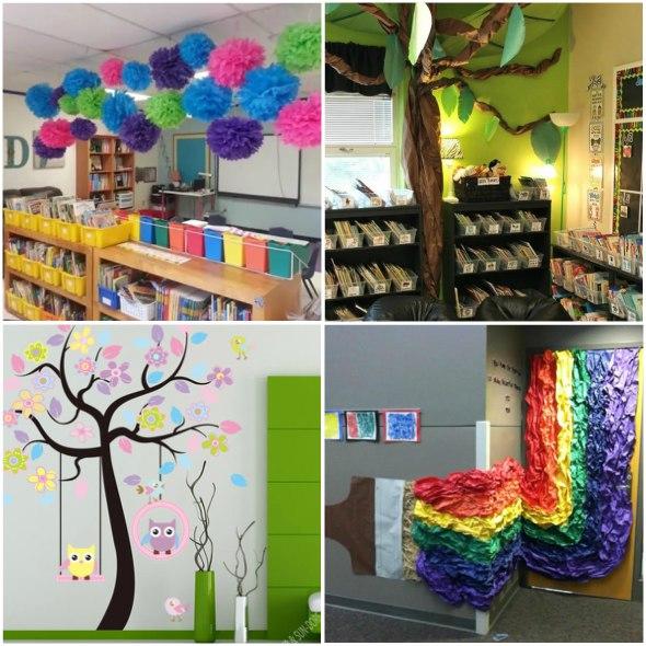 Decoração Sala de aula bem colorido