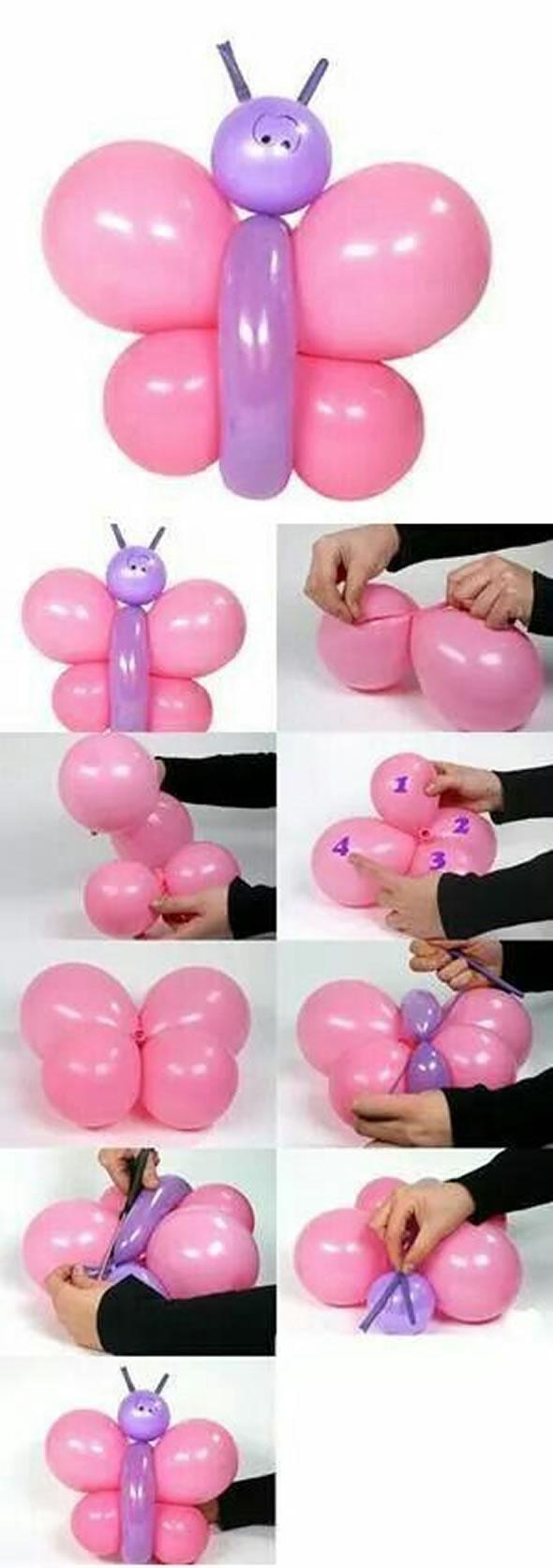 12 Exemplos Lindos para Decoração com Balões para a Páscoa